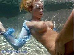 Madison Scott is a Screamer... Underwater! (2\/2)