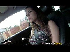 Mofos.com - Marina Visconti - Stranded Teens free