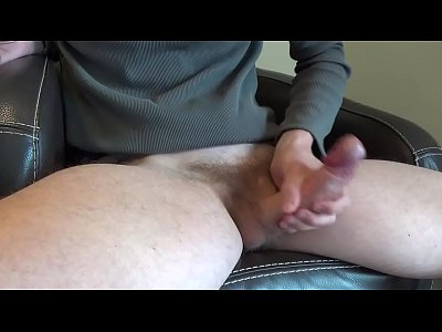 Jerk off and play with my big cock