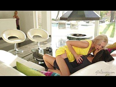 Busty Lesbian Milfs Jaclyn Taylor and Alexis Fawx