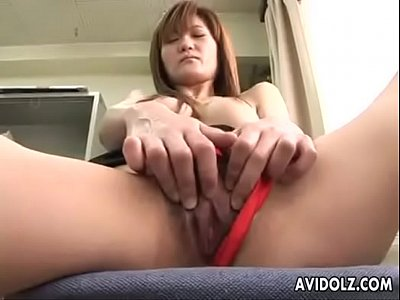 Japanese Office girl masturbation