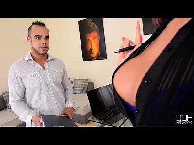 Office Adventures- My Boss is a Cock Sucker Milf