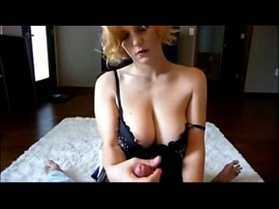 Heavy Cumshot All Over Wife's Hot Tits