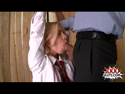 Sexy housewife blowjob cum swallow