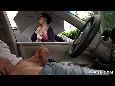 Dick flash and girl watches me jack off in my car - Pornspot