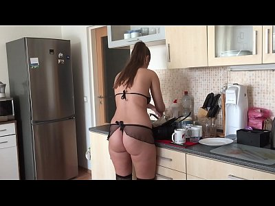 Cleaning Lady Amazing Anal