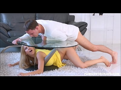 Stepmom Stuck Under Coffee Table Alexis Fawx