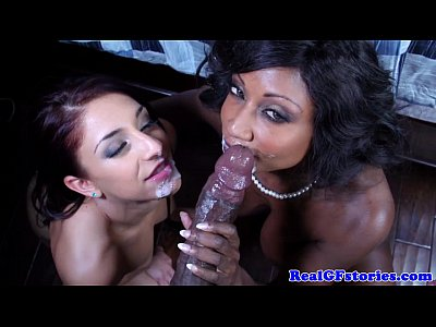 Ebony milf shares husbands bbc with whitegirl