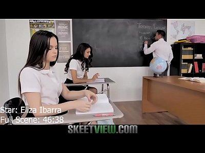 Teen Eliza Ibarra Sex with Teacher Sloppy Head ...