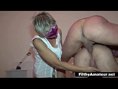In the ass of everybody! Milf & Bisexual! Awesome!