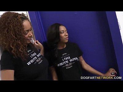 Serena Ali And Diamond Monrow Want Some White Cock