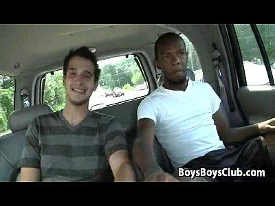 Blacks On Boys - Nasty Gay Bareback Big Dick Sucking 12