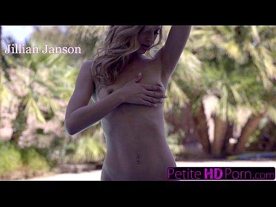 PetiteHDPorn - Teen Jillian Janson POV Fuck Outdoors
