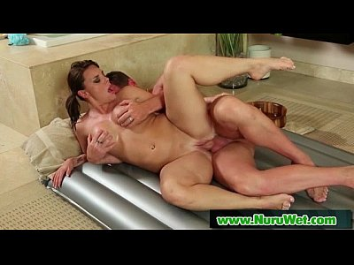 Masseuse offers Anal Sex during a Nuru Massage 14