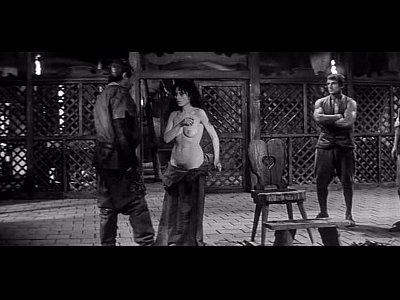 Brunette during inquisition
