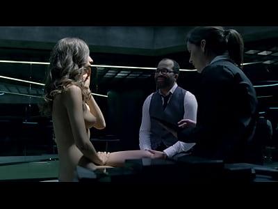 Angela Sarafyan - Westworld s01e01 (2016) HD 1080p