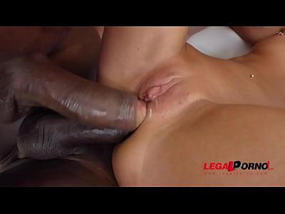 Russian whores Katrin Tequila & Jenn Stefani interracial 4some ass destruction