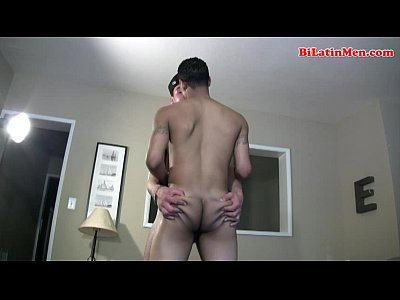 Hot latino and blatino bisexual guys suck each other and than fuck tight culo