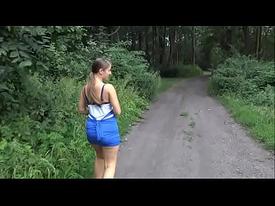 BLOWJOB IN THE FOREST AND FUCK IN MY HOME