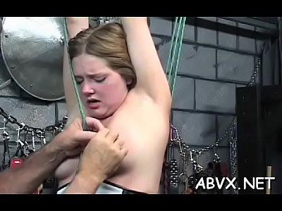 Busty fucked extreme slavery