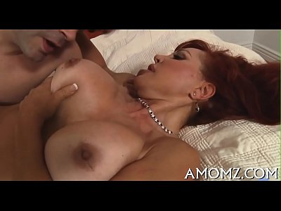 Hot mom receives pleasure of cock