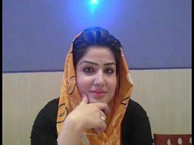 Attractive Pakistani hijab Slutty chicks talking regarding Arabic muslim Paki Sex in Hindustani at S