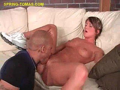 Blonde Gets Pussy Eaten