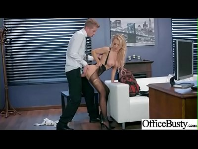 Bigtits Horny Office Girl (Alix Lynx) Like Hardcore Sex Action video-03