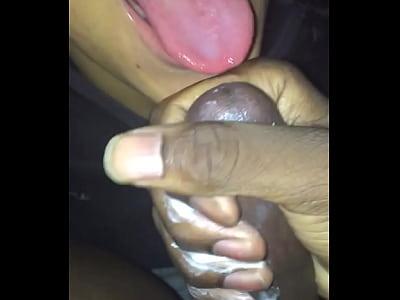 sucking dick while boyfriends at work