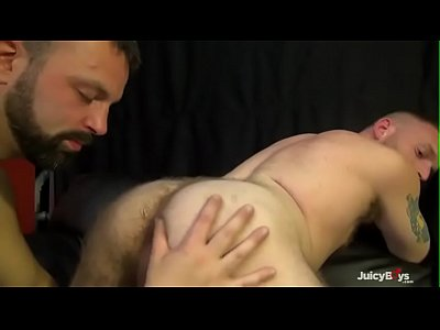 Hot hairy guy bareback