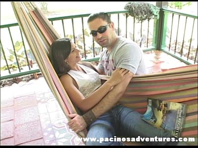 Pacinos Adventures - Sandra Moreno riding on a fat dick