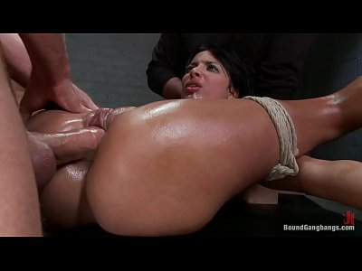 anissa kate tied up and fucked rough and hard