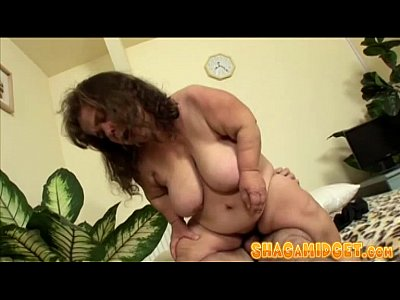 Fat Mature Midget Riding Cock