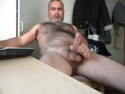 hairy bear cumming
