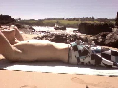 Public Beach Jerk Off