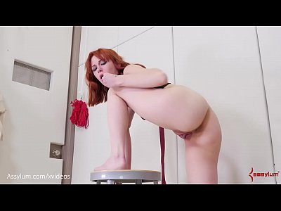Skinny, bubble butt babe gets roughly face fucked and ass fucked with lots of ATM (Alexa Nova)