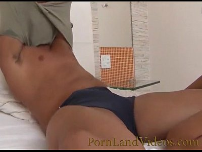 sexy latina girl loves big cock in her pussy and mouth
