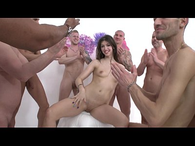 Susan Ayn 12 man gangbang with DP & DAP SZ1257