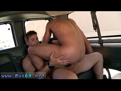 Gay male group sex on stage first time Round Ass On The BaitBus