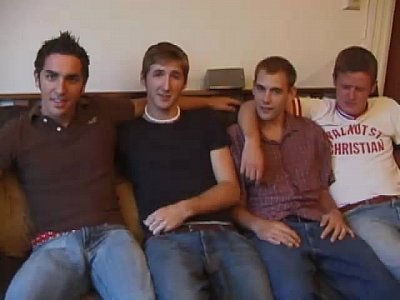 Young Straight and Gay Sex Orgy