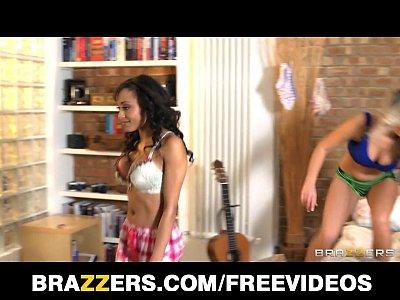 Horny Ebony bridesmaid fucks a stripper at the Bachelorette party