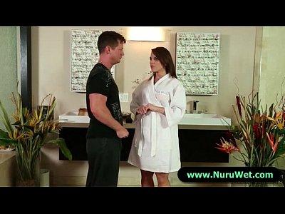Sexy Masseuse Gives a Full Service Nuru Massage 13