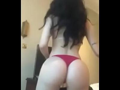 Paty Azcagorta video sin censura rebotando culo y tetas HIGH