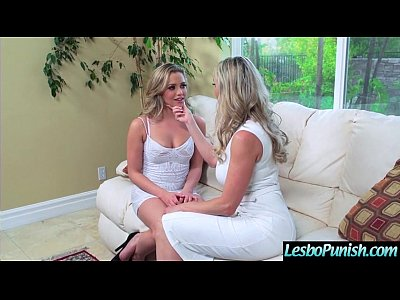 Hard Play With Dildos Between Nasty Wild Lesbians Girls (brandi&mia) clip-16