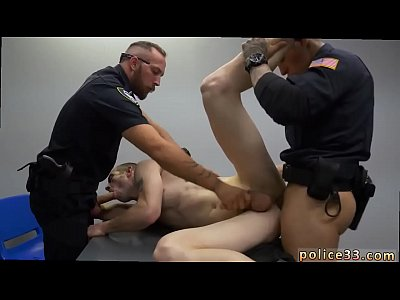 New gay police handsome naked movieture Two daddies are nicer than one