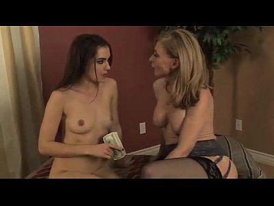 Lesbian sasha Grey and milf Nina Hartley