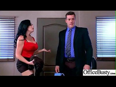 Busty Slut Office Girl (Sybil Stallone) Love Hardcore Sex video-29