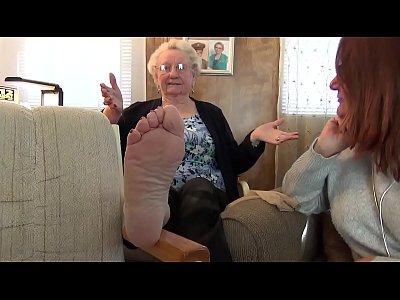 Granny's Soles Feet