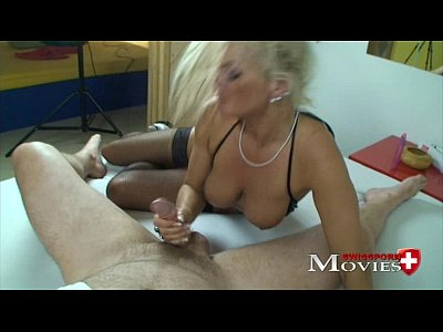 Janine sexy lady fucked in porn casting in Zürich