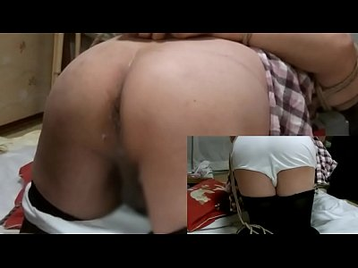 After being tied upside down japanese shemale fujiko